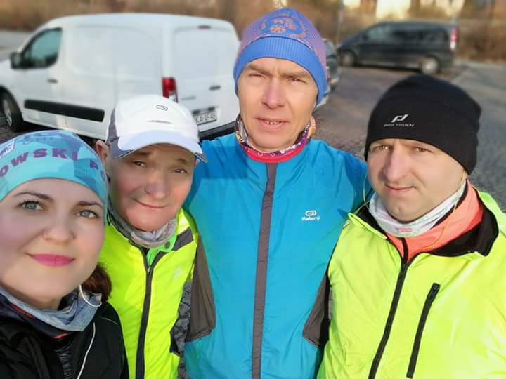 Weronika, Marek, Paweł i Mieciu - maraton wielkanocny 2018