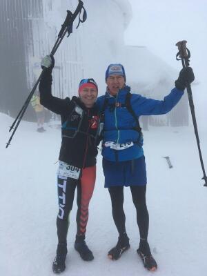 Paweł Nowak, Tomek Pawłowski - V Zimowy Ultramaraton Karkonoski