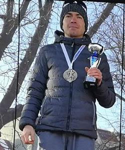 Konrad Pawlak 2. miejsce w M30